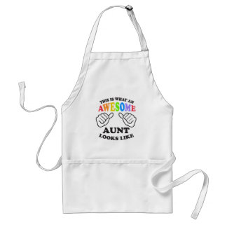 What an awesome gay AUNT Adult Apron