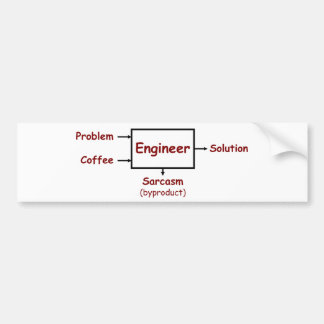 What an engineer really does bumper sticker