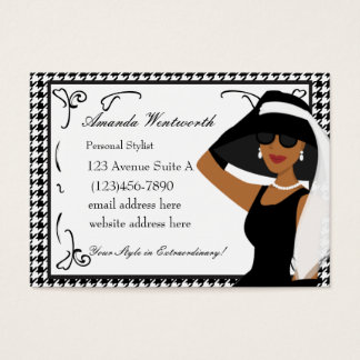 What an Extraordinary Hat! Business Card