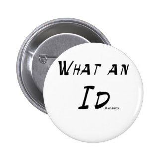 What An Id 2 Inch Round Button