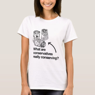 WHAT ARE CONSERVATIVES REALLY CONSERVING.png T-Shirt