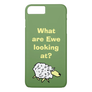 """What are """"ewe"""" looking at? iPhone 8 plus/7 plus case"""
