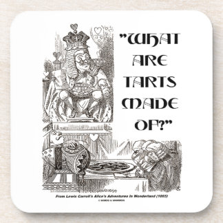 What Are Tarts Made Of? King Of Hearts Wonderland Coaster