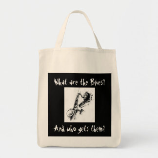What are the Blues and who gets them? Tote Bag