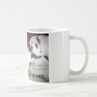 "what are u, Kitty Says: ""You Lookin' At ME?"" Coffee Mug"