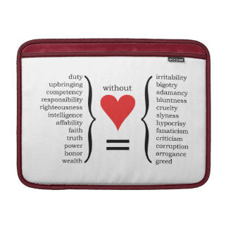 What are We without Love? Sleeves For MacBook Air
