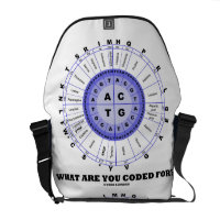 What Are You Coded For? (DNA Replication) Courier Bags