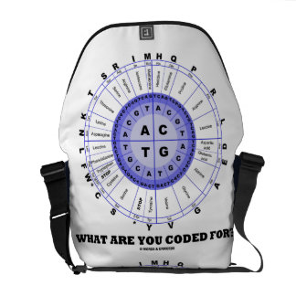 What Are You Coded For? (DNA Replication) Messenger Bag