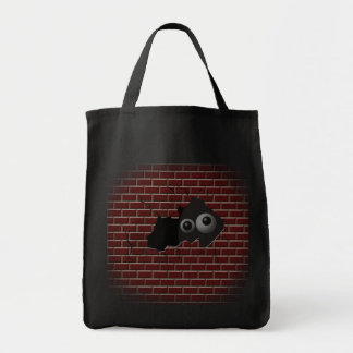 What are you hiding from?! tote bag