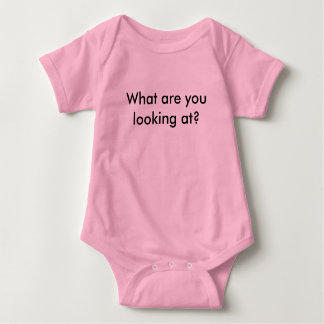 What are you looking at? baby bodysuit