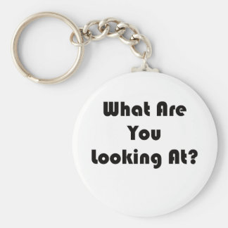 What Are You Looking At? Keychain