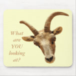 WHAT ARE YOU LOOKING AT? MOUSEPAD