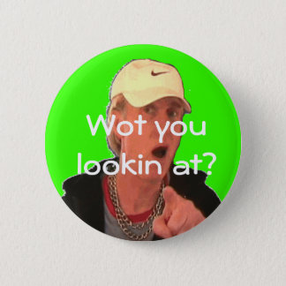 What are you looking at? pinback button
