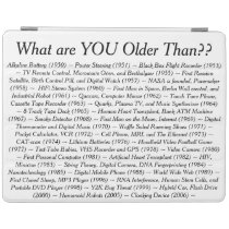 What Are YOU Older Than iPad Smart Cover