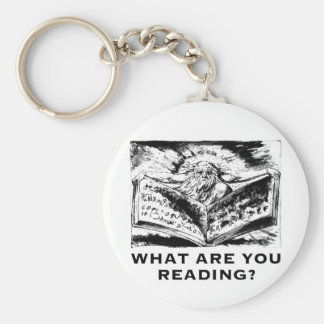 What Are You Reading Urizen Keychain