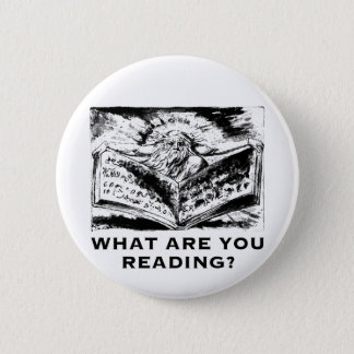 What Are You Reading Urizen Pinback Button