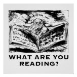 What are you Reading Urizen Print