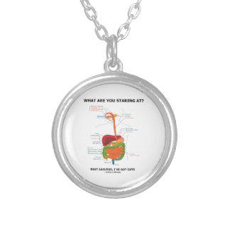 What Are You Staring At Rest Assured I've Got Guts Necklace