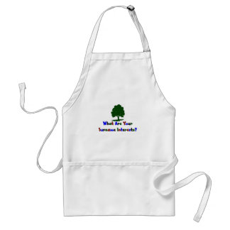 What Are Your Surname Interests? Adult Apron
