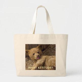 WHAT ATTITUDE? TOTE BAG