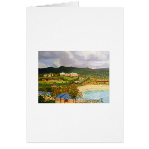 What aView! Buccaneer Hotel,St Croix Greeting Card