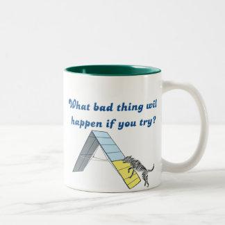 What Bad Thing? Two-Tone Coffee Mug
