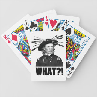 WHAT?! BICYCLE PLAYING CARDS