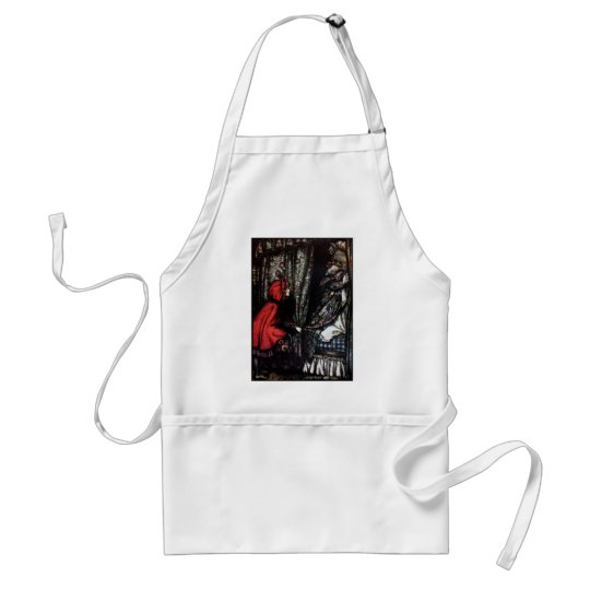 What Big Teeth You Have Adult Apron