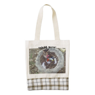 What Bird? Zazzle HEART Tote Bag