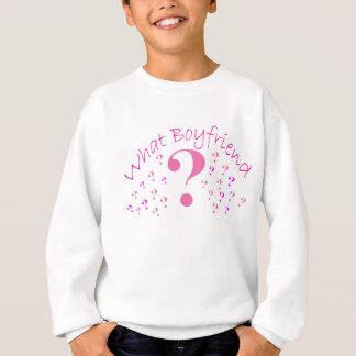 What Boyfriend??? Pink Sweatshirt