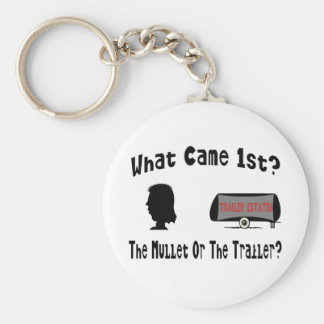 What Came 1st?  The Mullet or The Trailer? Key Chain