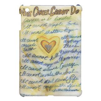 What Cancer Cannot Do Angel Art iPad Hard Case iPad Mini Cases