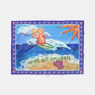 What Cancer Cannot Do Angel Soft Fleece Blanket