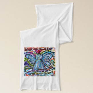 What Cancer Cannot Do Colorful Angel Scarf Gift