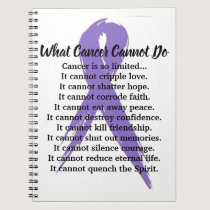 What Cancer Cannot Do journal (all cancers ribbon)