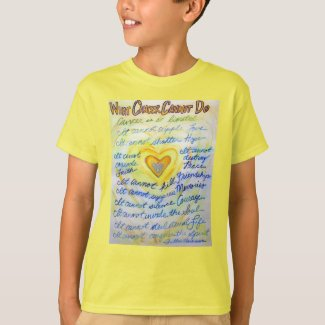 What Cancer Cannot Do Poem Angel Custom T-Shirts