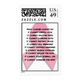 What Cancer Cannot Do Postage Stamp