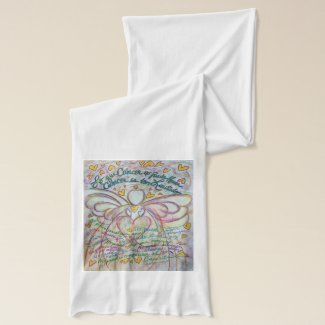 What Cancer Cannot Do Spanish Pastel Angel Scarf