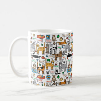 What Cats Say Coffee Mug