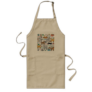 What Cats Say Long Apron