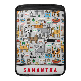 What Cats Say MacBook Air Sleeves