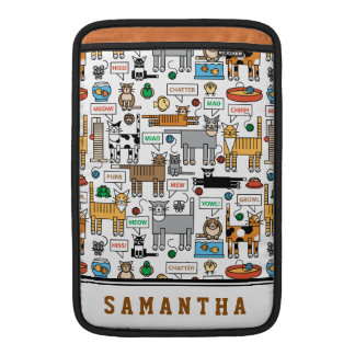 What Cats Say MacBook Sleeves