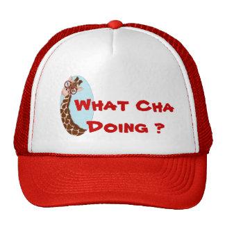 What Cha Doing ? Trucker Hat