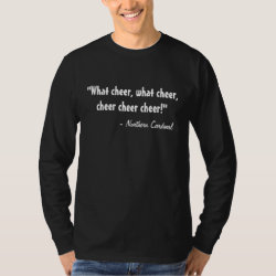 Men's Basic Long Sleeve T-Shirt with Northern Cardinal design