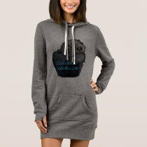 What Chew Lookin At?   Ladies Sweat-Shirt Dress