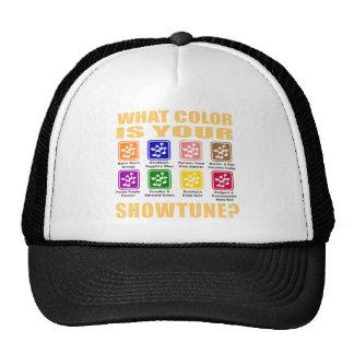 What Color/Showtune Hat