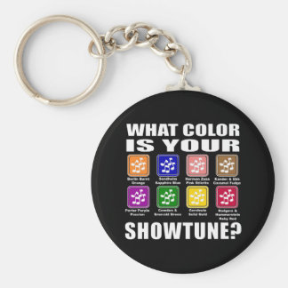 What Color/Showtune Keychain