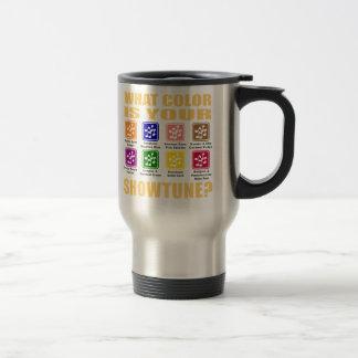 What Color/Showtune Travel Mug