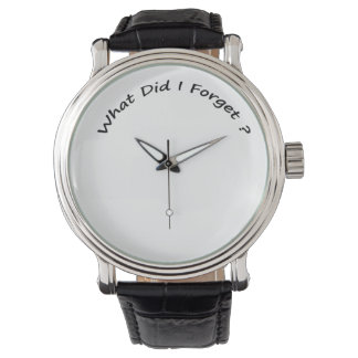 What Did I Forget ?-  Men's Watches. Watch
