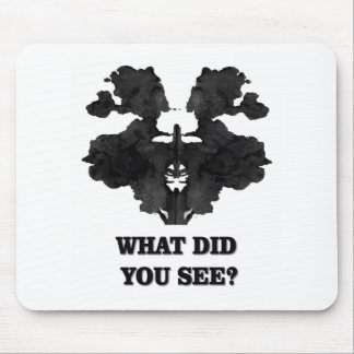 What did you see mouse pad